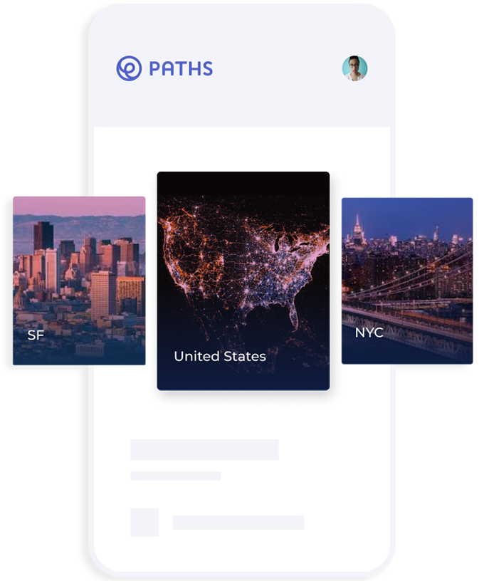 Paths UI View